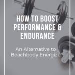 boost performance beachbody