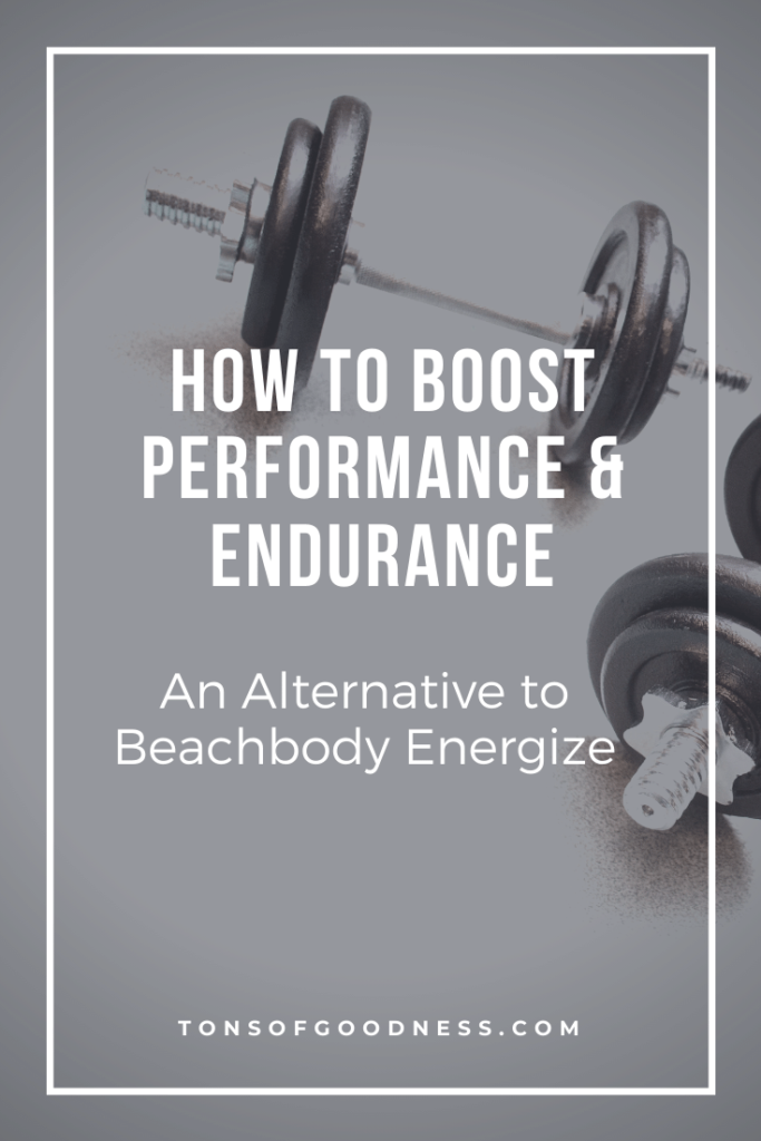 boost performance beachbody