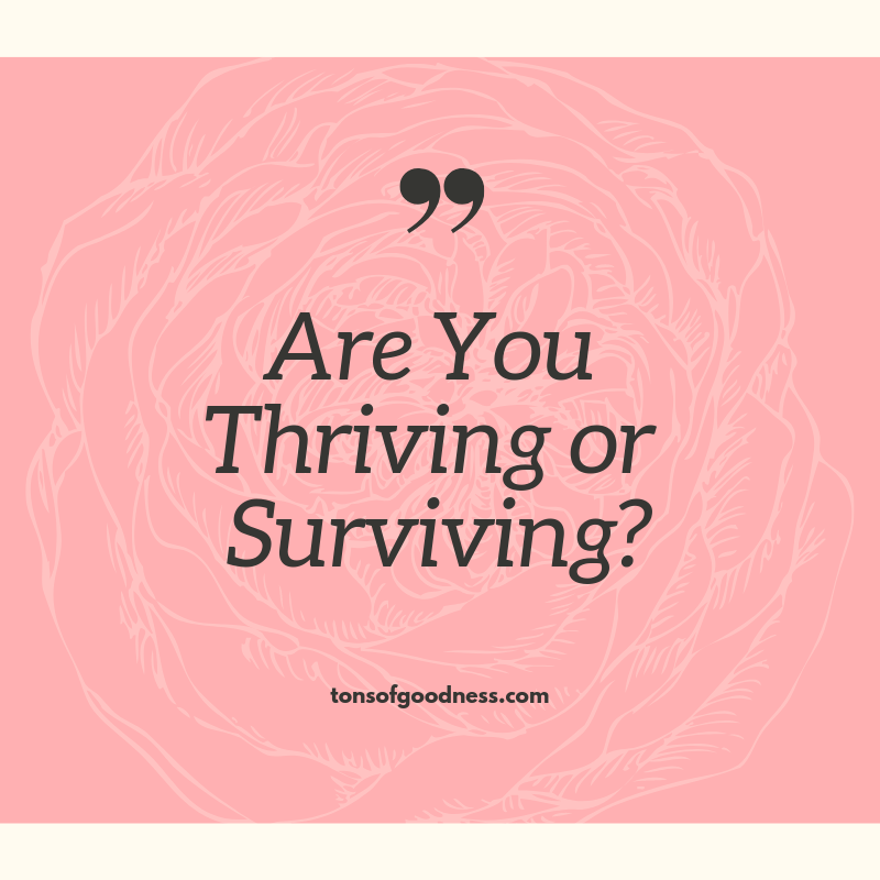 Choose to thrive