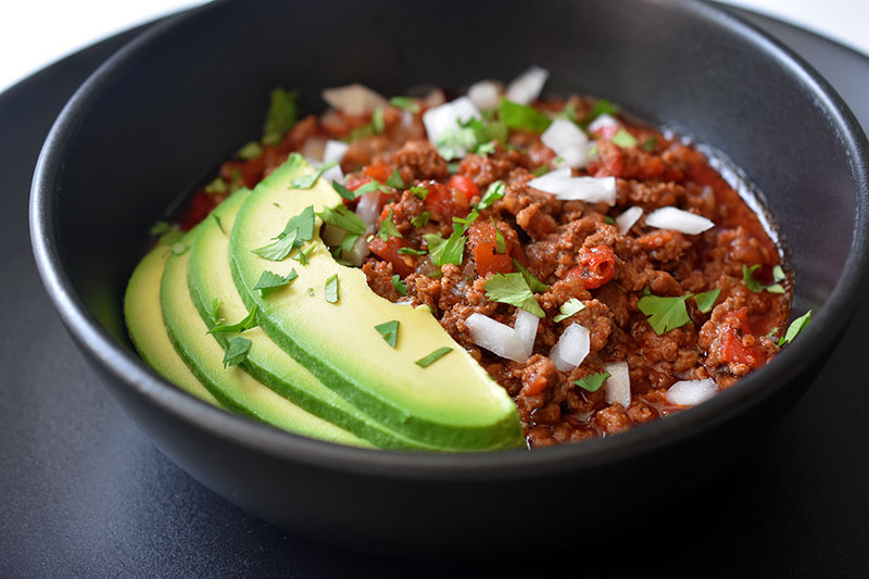 instant pot ground beef chili recipe