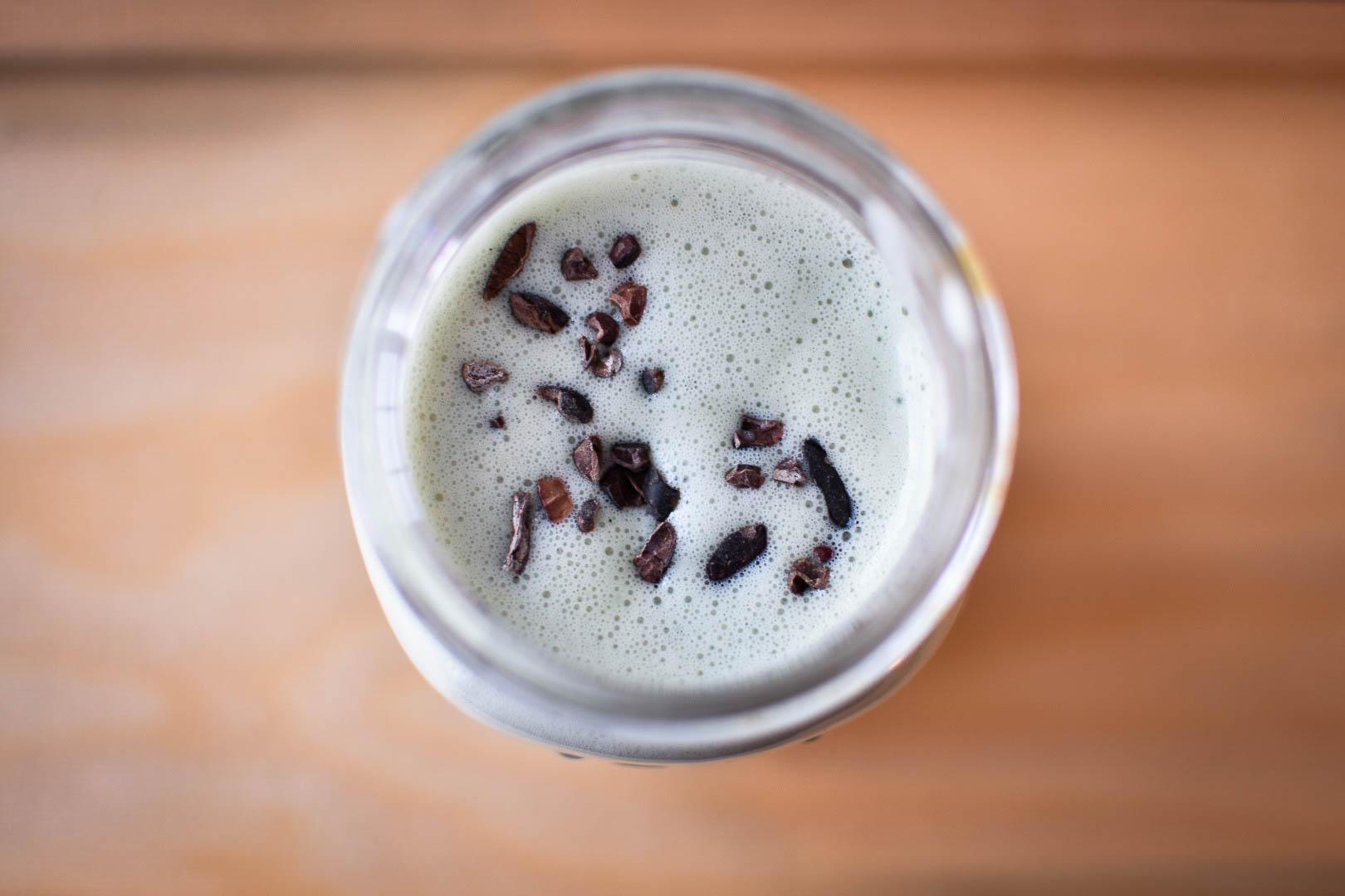 image of shamrock shake