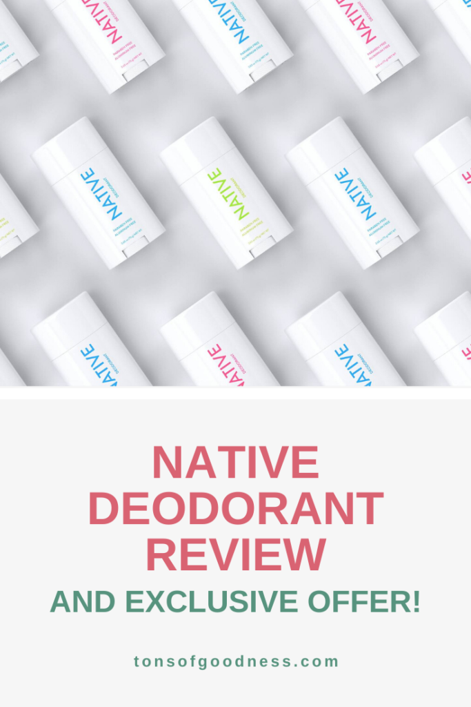 native deodorant a natural product