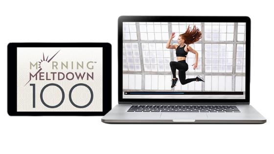 image of morning meltdown 100 logo and Jericho