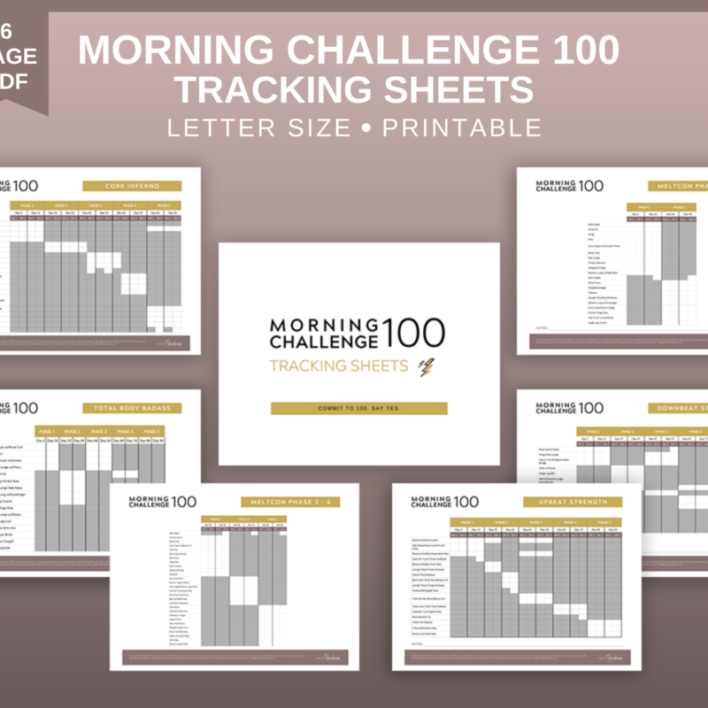 morning challenge 100 workout