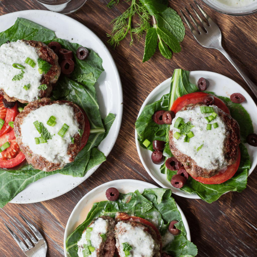 greek lamb burgers gluten-free dinner recipes