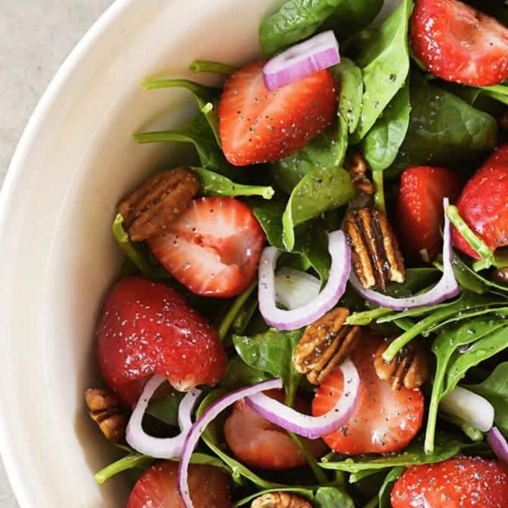 strawberry salad gluten-free dinner recipes