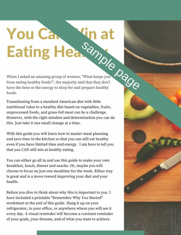 eating healthy guide
