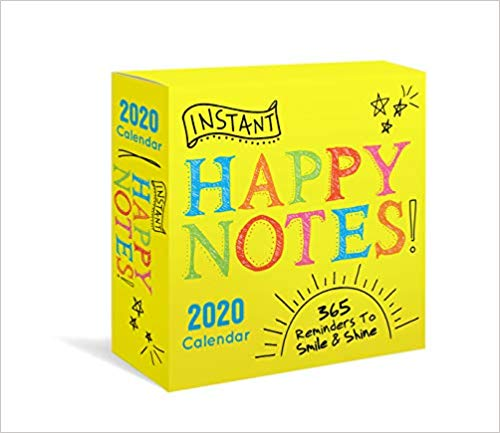 happy notes 2020 calendar
