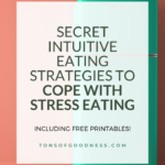 Cope with Stress Eating