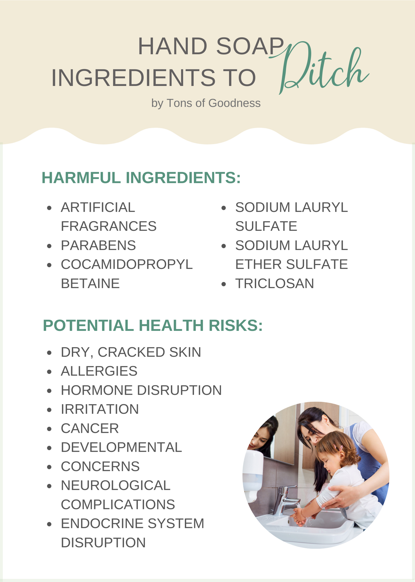 hand soap ingredients to avoid