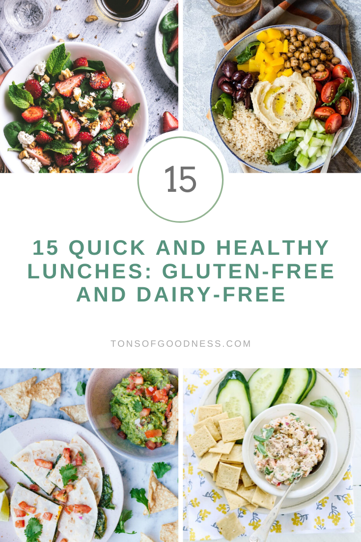 quick and healthy lunches