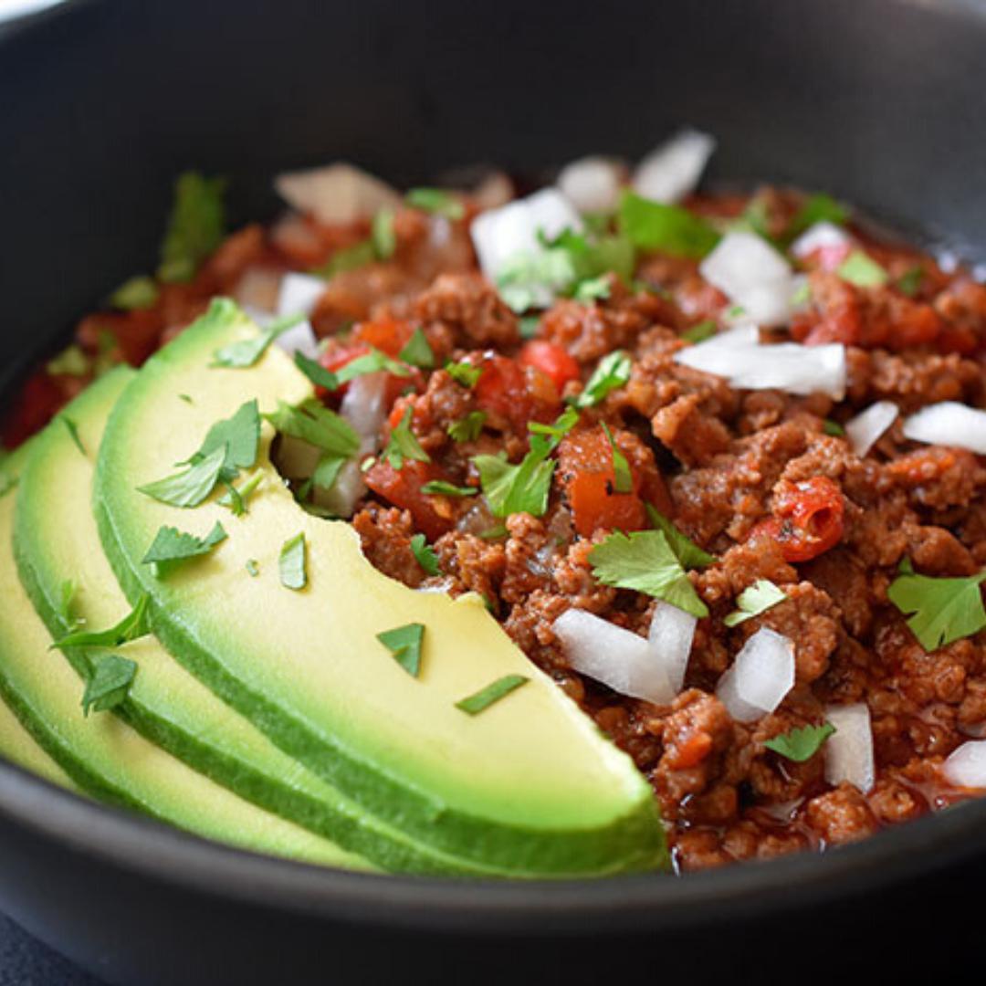 paleo beef chili