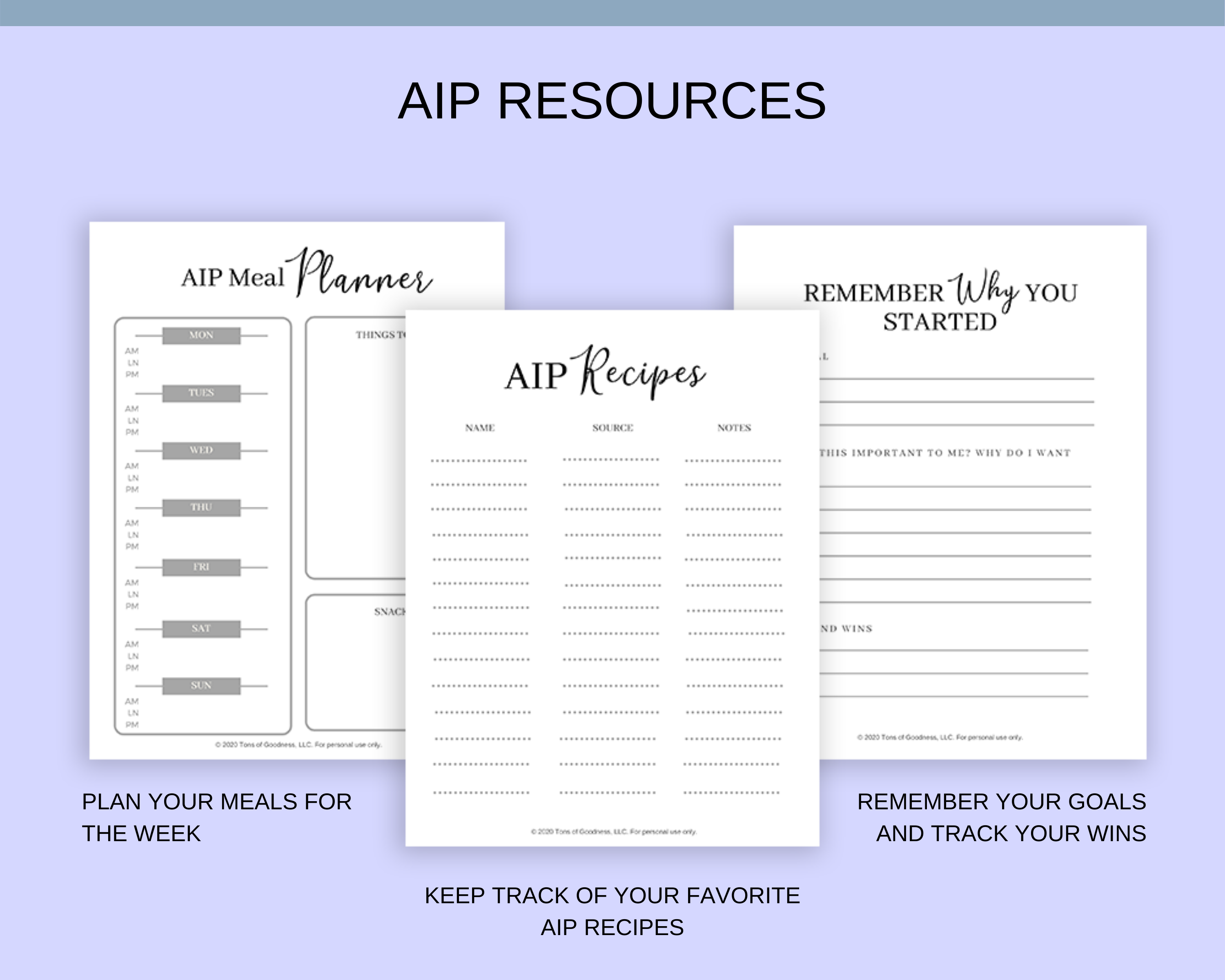 aip RESOURCES