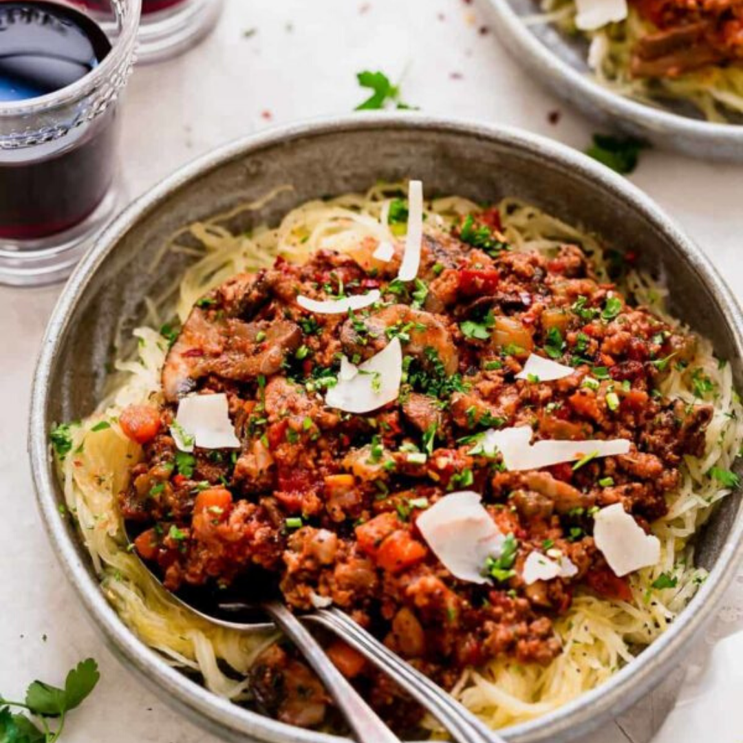 instant pot healthy bolognese