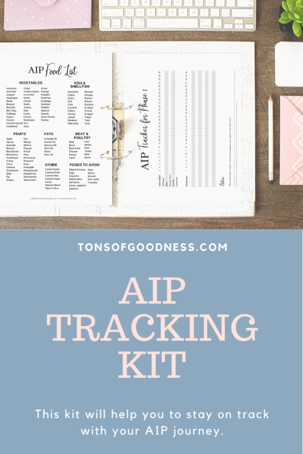autoimmunce protocol tracking kit