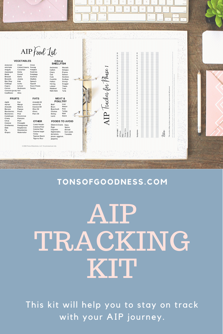 autoimmunce protocol tracking kit