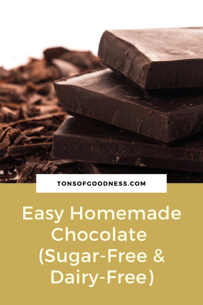easy homemade chocolate pin