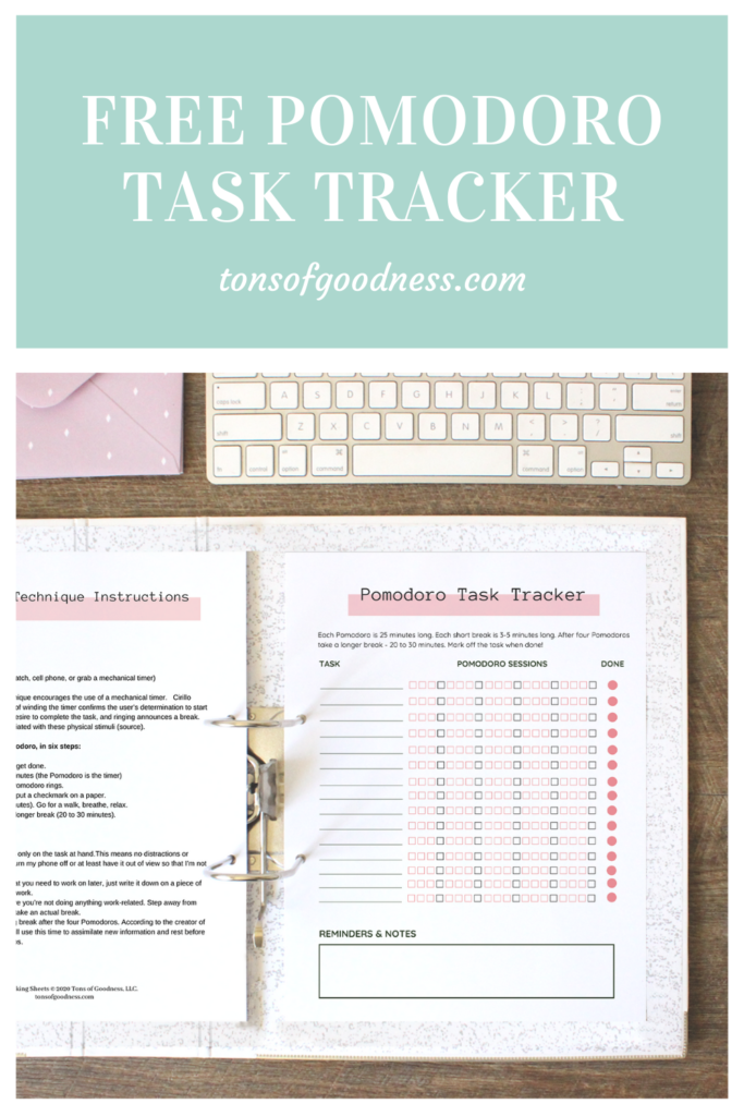 free pomodoro task tracker available for download upon subsription