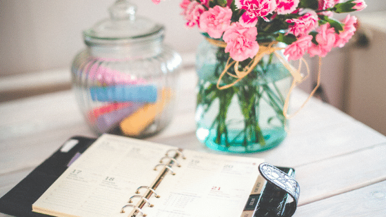planner for meal planning for a healthy week