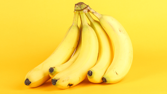 bunch of bananas and food myths