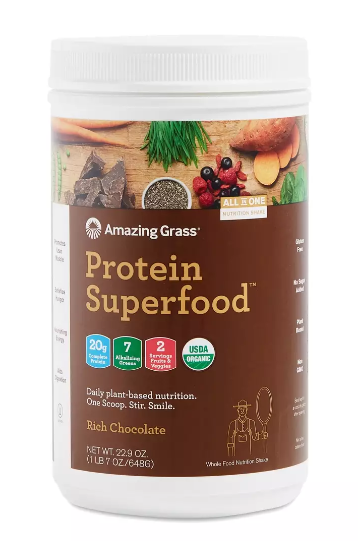 amazing grass vegan protein powder