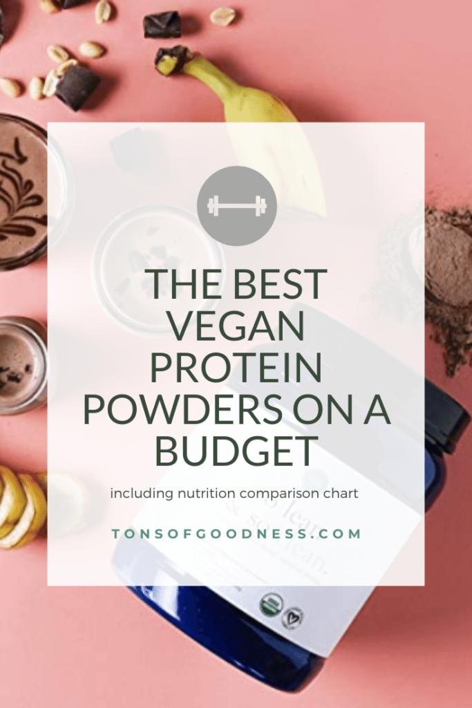 best vegan protein powders on a budget