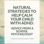 adhd natural strategies