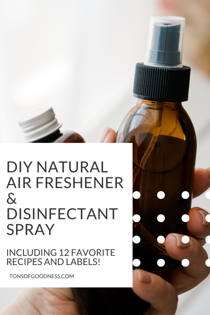 DIY Natural Air Freshener and Disinfectant Spray