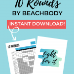 10 ROUNDS tracking sheets pin