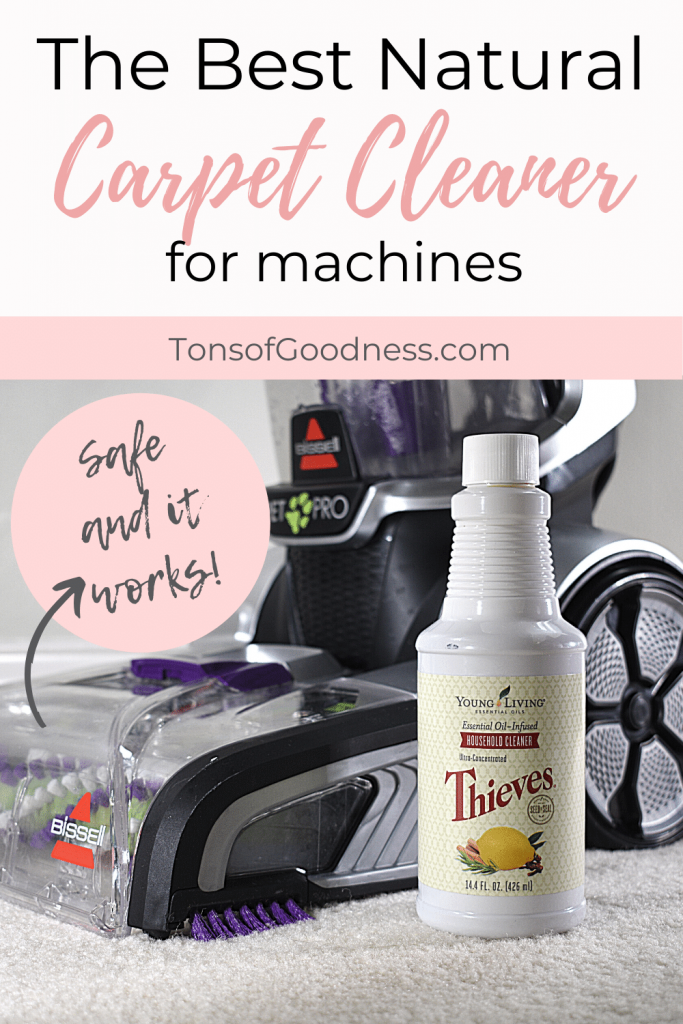 natural carpet cleaner for machines