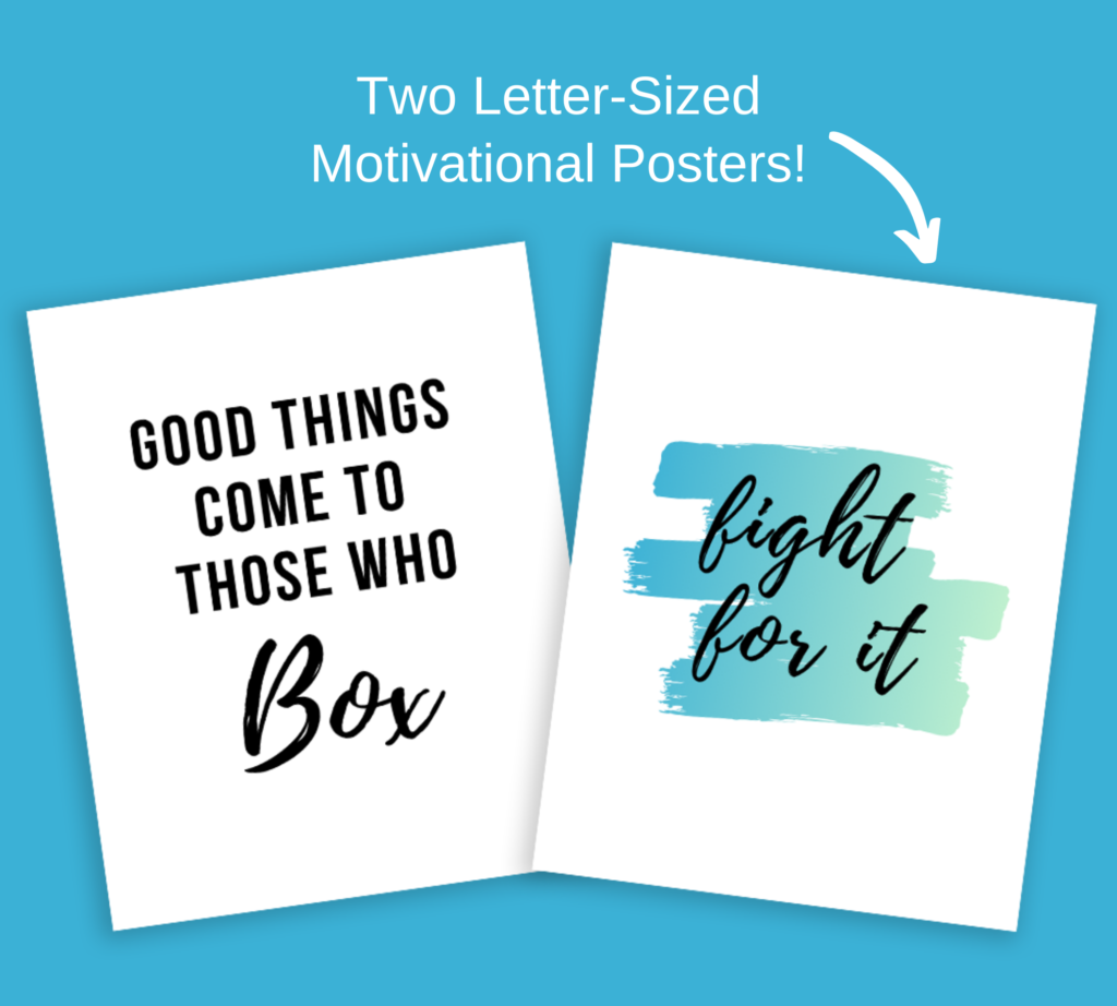 motivational posters for 10 rounds