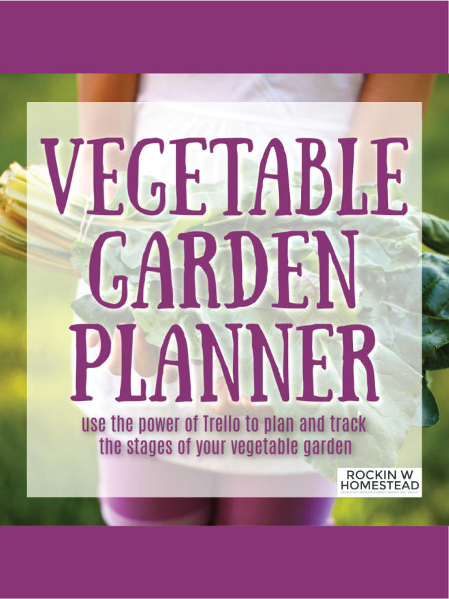 cover of vegetable garden planner