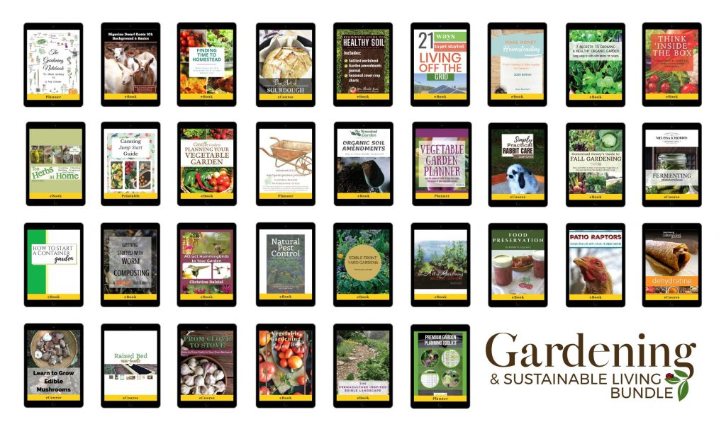 ultimate gardening and sustainability bundle