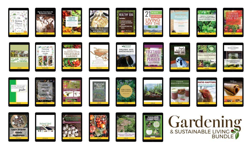 ultimate gardening and sustainability bundle
