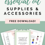 essential oil supplies guide pin