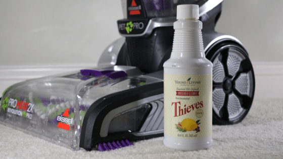 natural carpet cleaner for machine