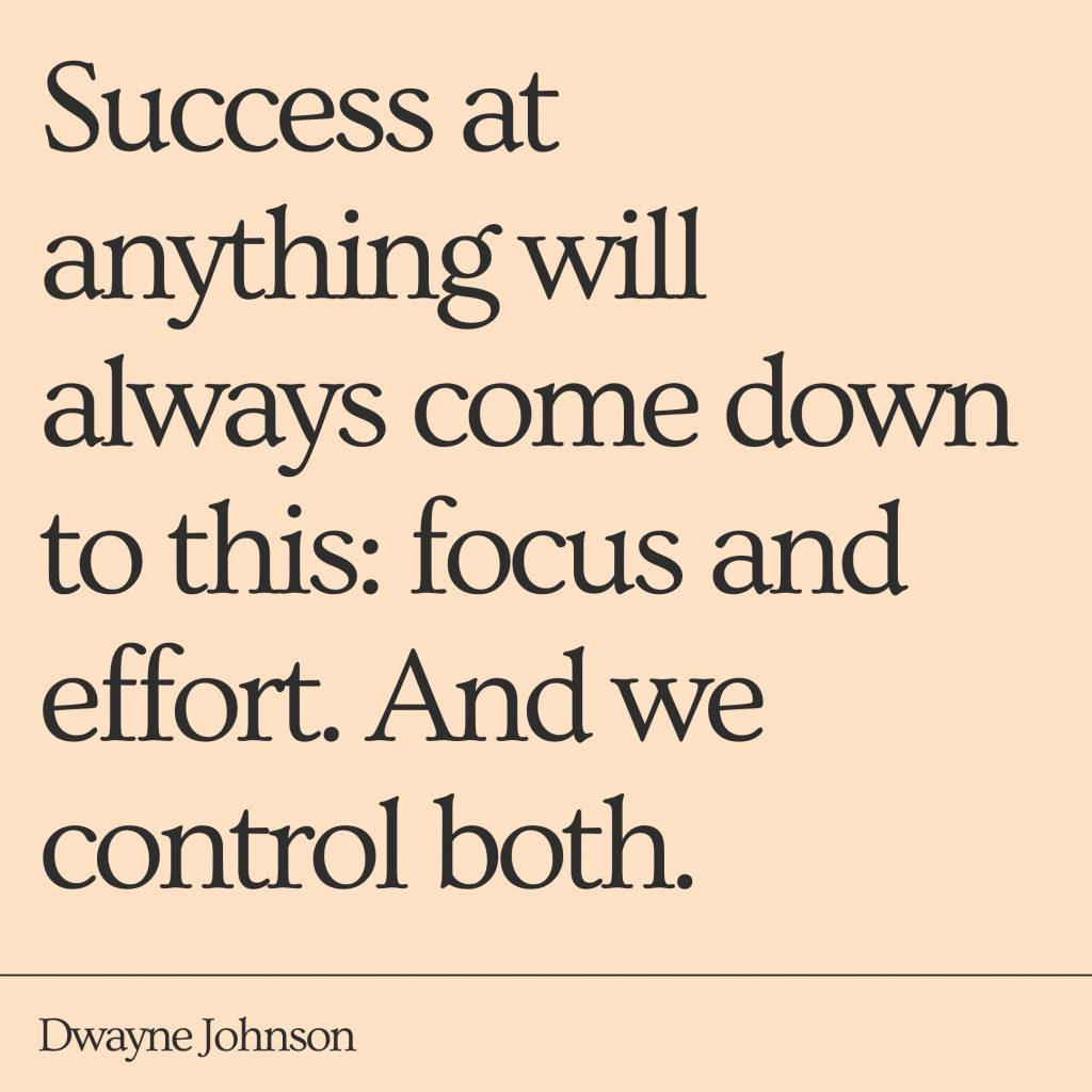 gym quote from dwayne johnson