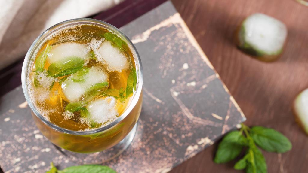 cold brew green tea - summer drink recipes