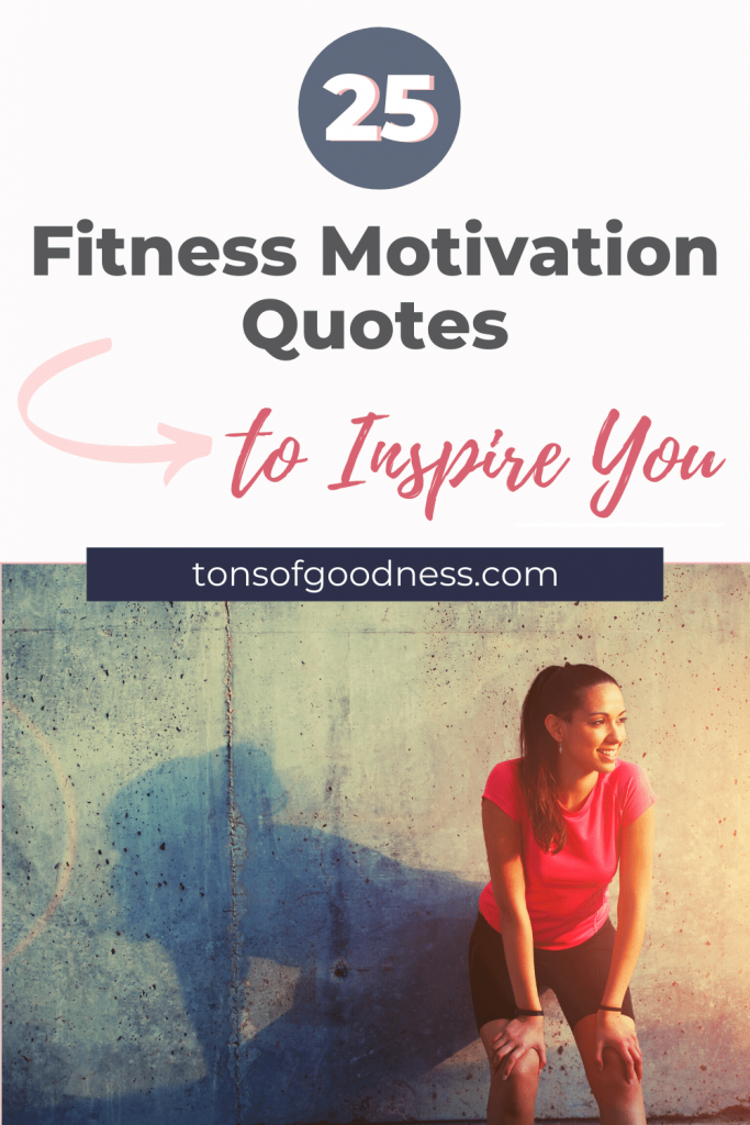 pin for fitness quotes