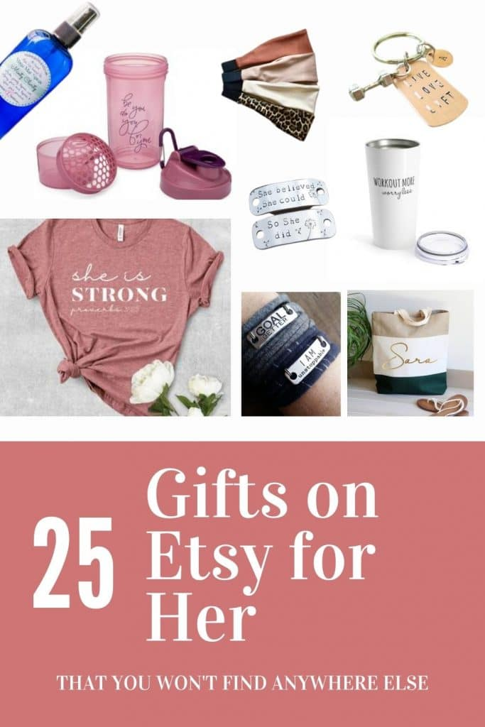 25 Fitness gifts on etsy for her