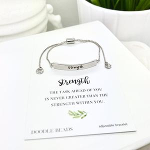 strength bracelet, one of the perfect gifts on Etsy for her