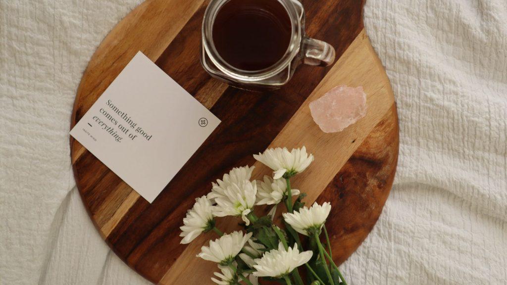 tea and affirmation for sleep