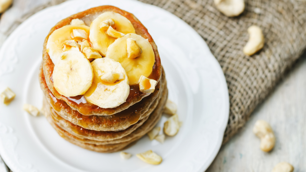 easy breakfast ideas banana pancakes